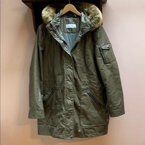 Women's Calvin Klein lined raincoat
